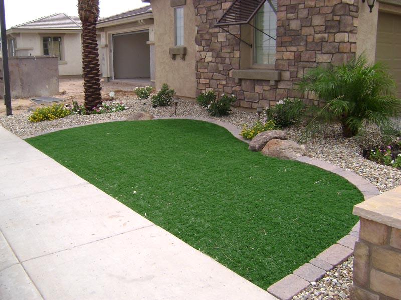 Arizona Landscape Design | Poco Verde Landscape ... on Astro Turf Backyard Ideas id=88463