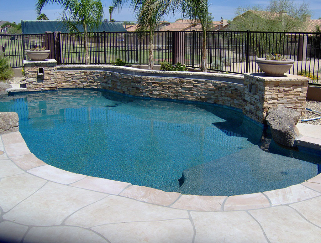 Arizona landscape design poco verde landscape pools for Pool design az