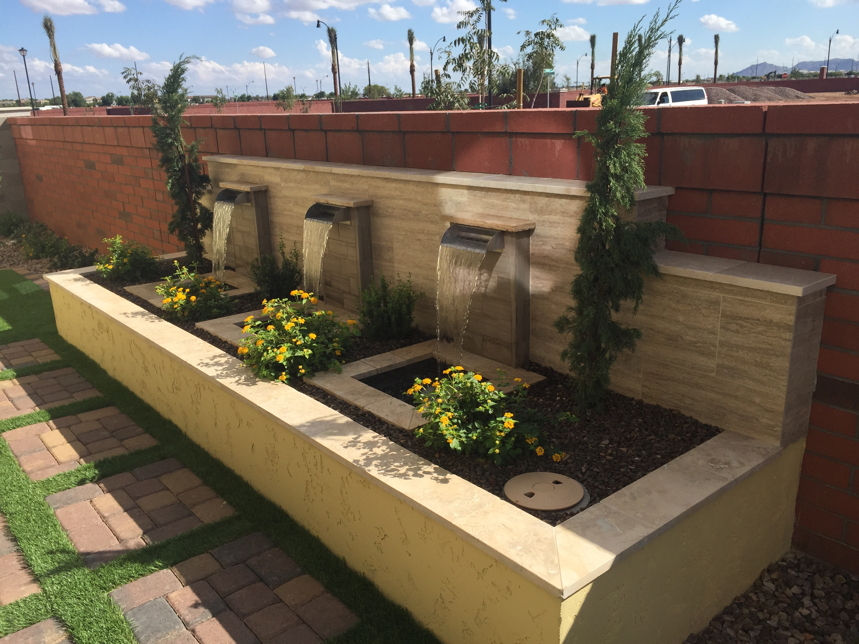 Scottsdale Landscape Design   Poco Verde Landscape   Water ...